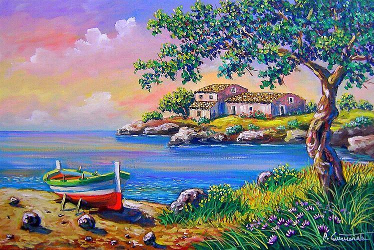 Paesaggi marini dipinti paesaggi xx secolo e oltre for Paesaggi marini dipinti