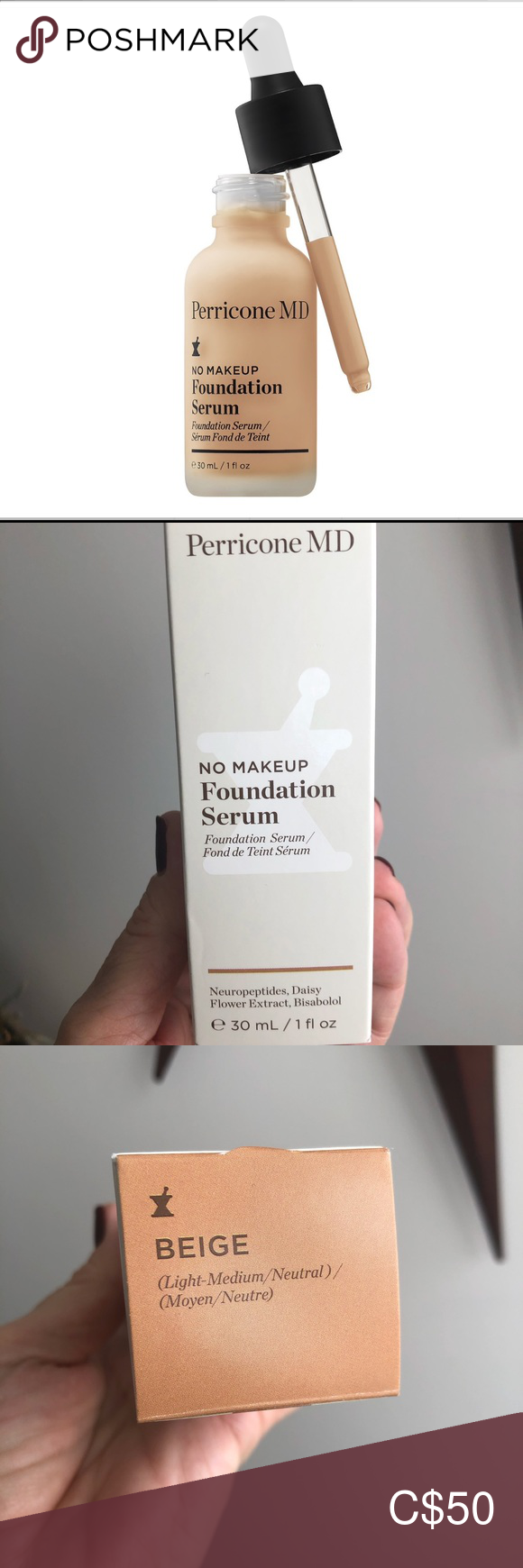 Perricone MD No Makeup Foundation Serum Beige in 2020