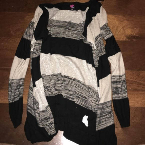 Bebe striped cardigan Bebe size M/L bebe Sweaters Cardigans