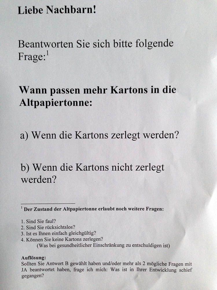 Nachbarschaft Altpapiertonne Mull Berlin Zitate Zum Thema Liebe Witzige Spruche Urkomische Zitate