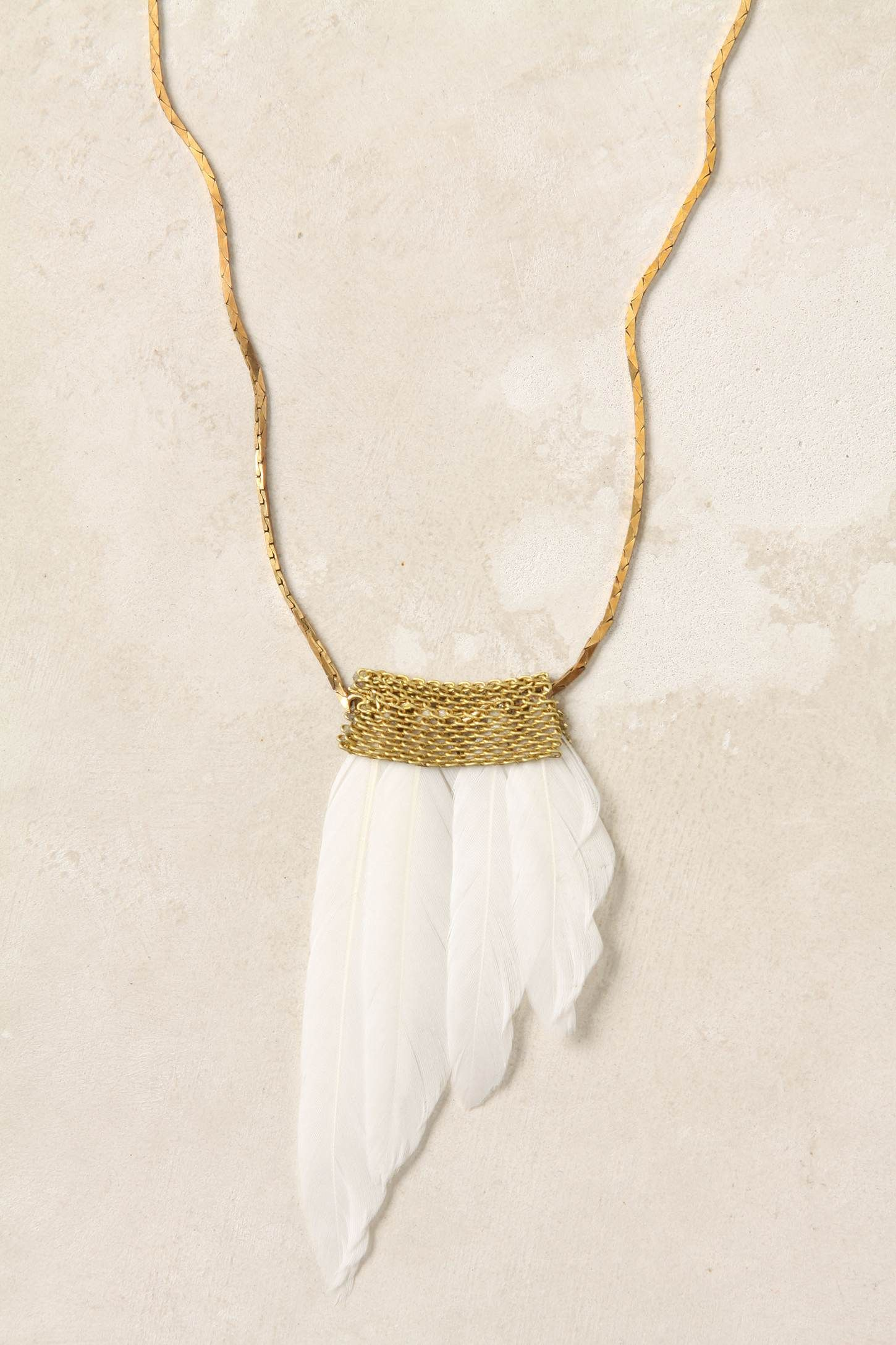 natural handmade feathered feather you racy the necklace long perfectly lays if bib pin over and