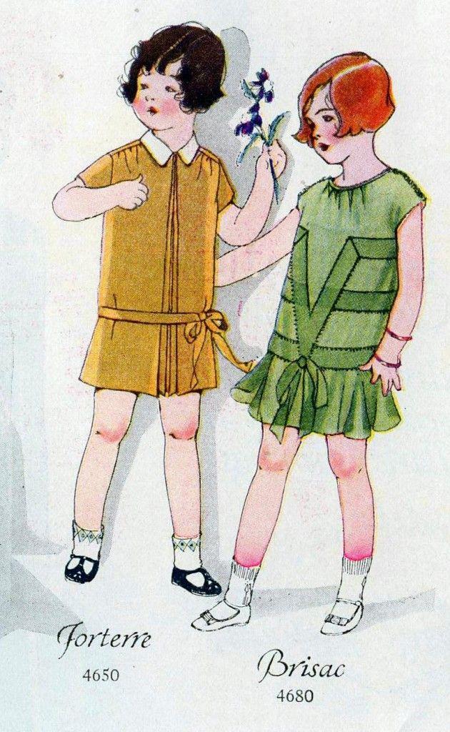 Children\'s Fashion, 1926 | 1920s Children\'s Fashions | Pinterest