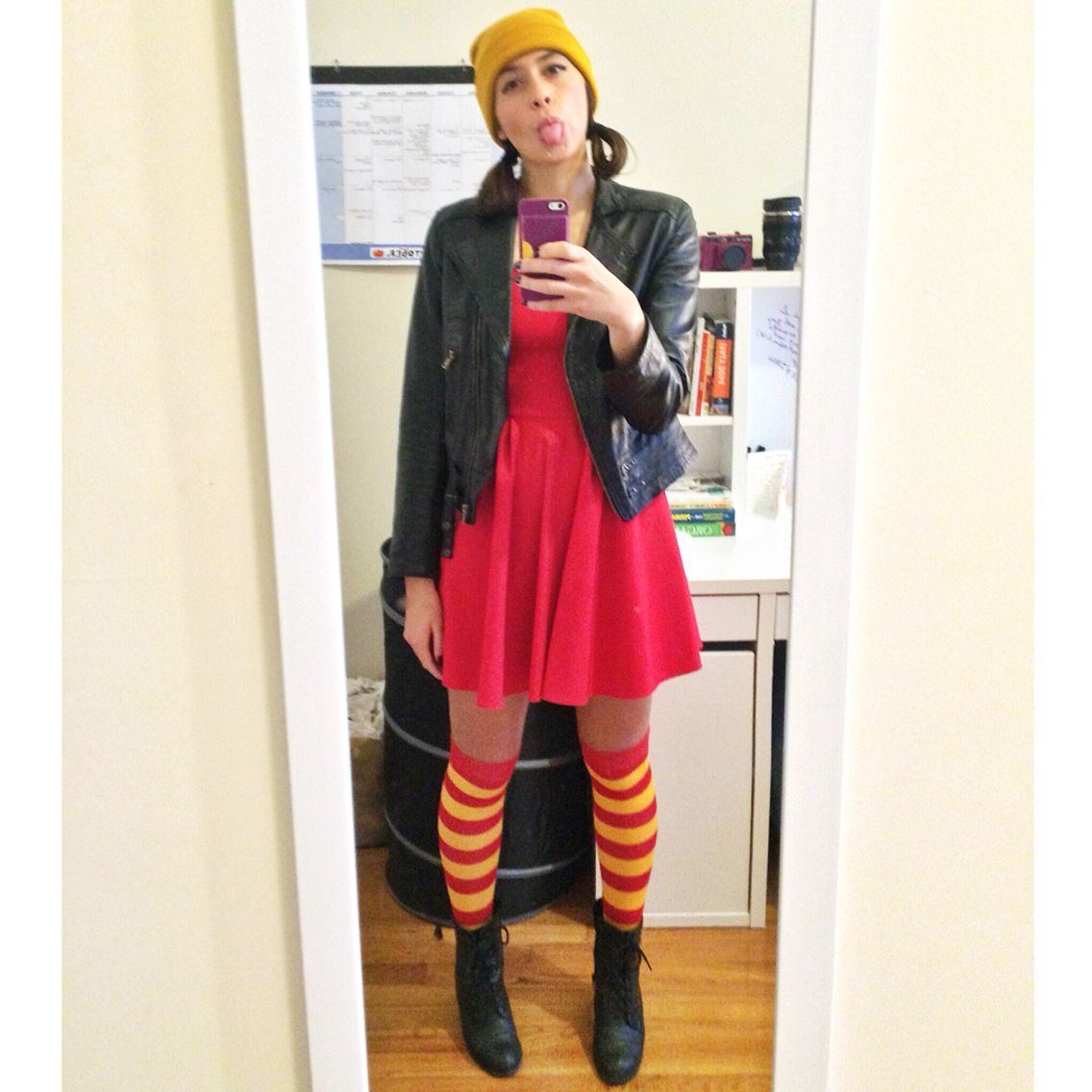 diy ashley spinelli costume for halloween! #recess #childhood #fun