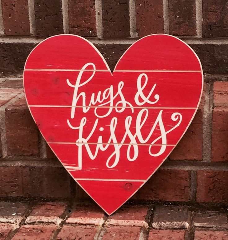 Wooden Signs, Wood Signs, Hand Painted, Wood Art ... |Valentine Hand Painted Wood Signs