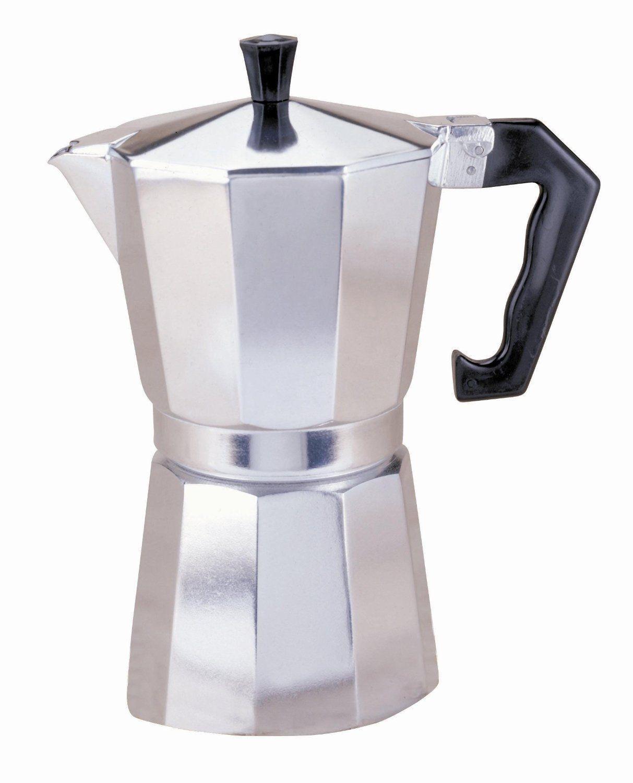 Primula aluminum cup stovetop espresso maker latte mocha coffee