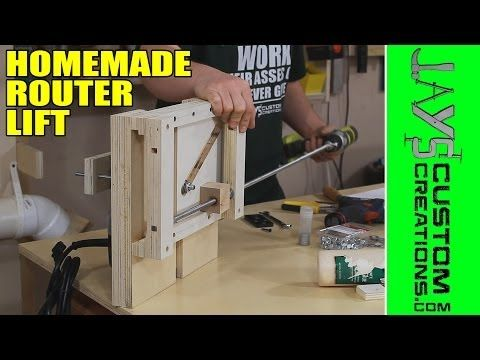 building a router lift 141 youtube diy woodworking tools building a router lift 141 youtube greentooth Image collections