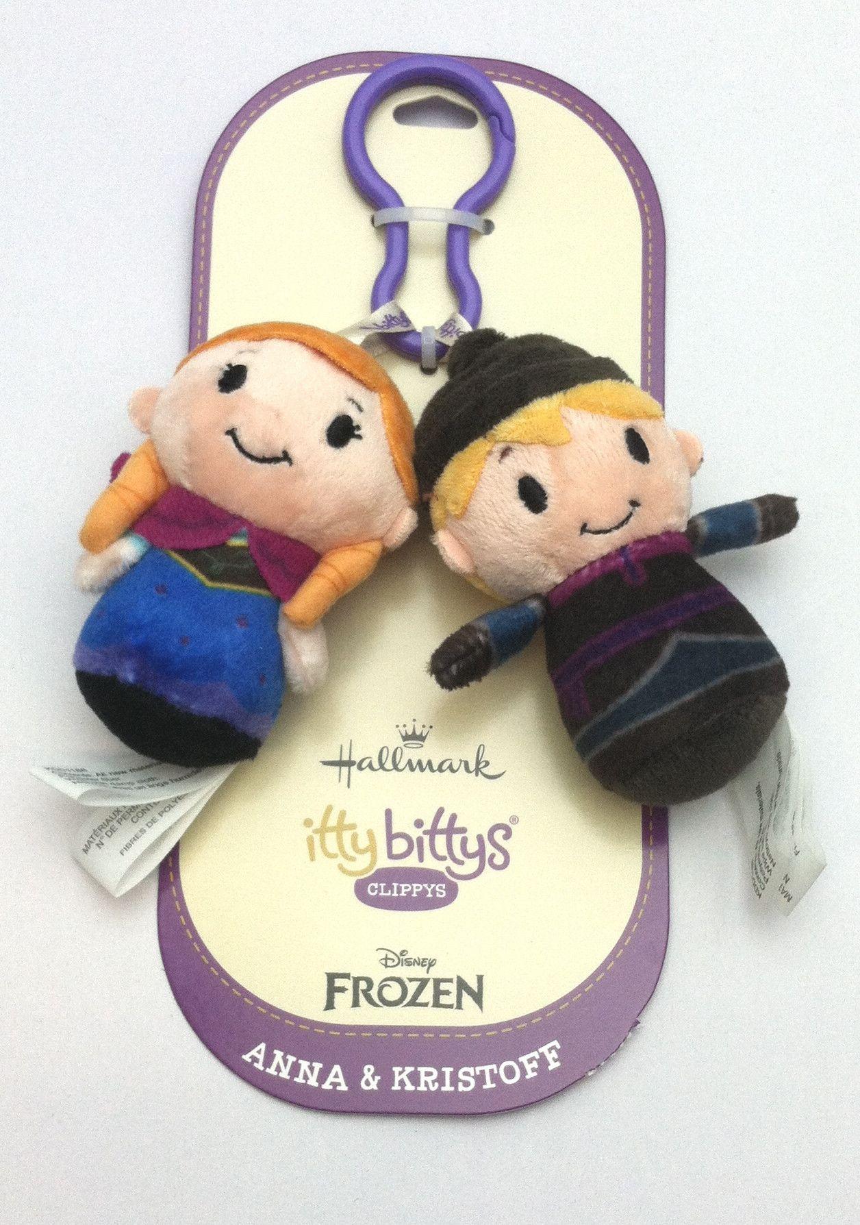 Hallmark Disney Frozen Anna Kristoff Itty Bitty Clippys Roby S Hallmark Frozen Anna And Kristoff Disney Frozen Frozen Disney Anna