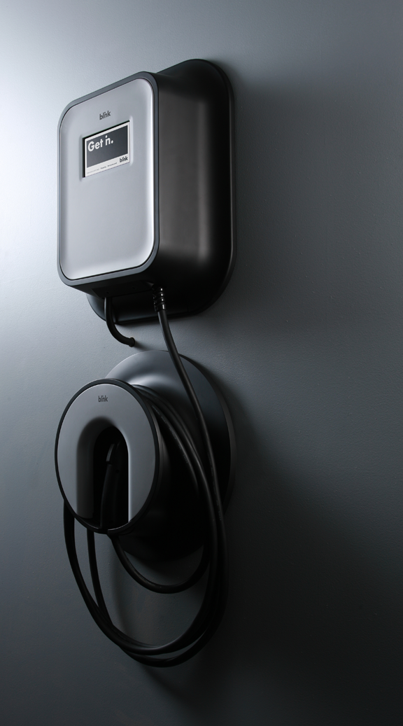 Blink Charging Stations >> Blink Ecotality By Frog Design Charging Station Ev