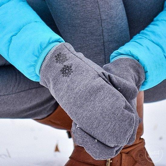Freebook: Schnittmuster Fäustling Handschuh für Kinder und ...