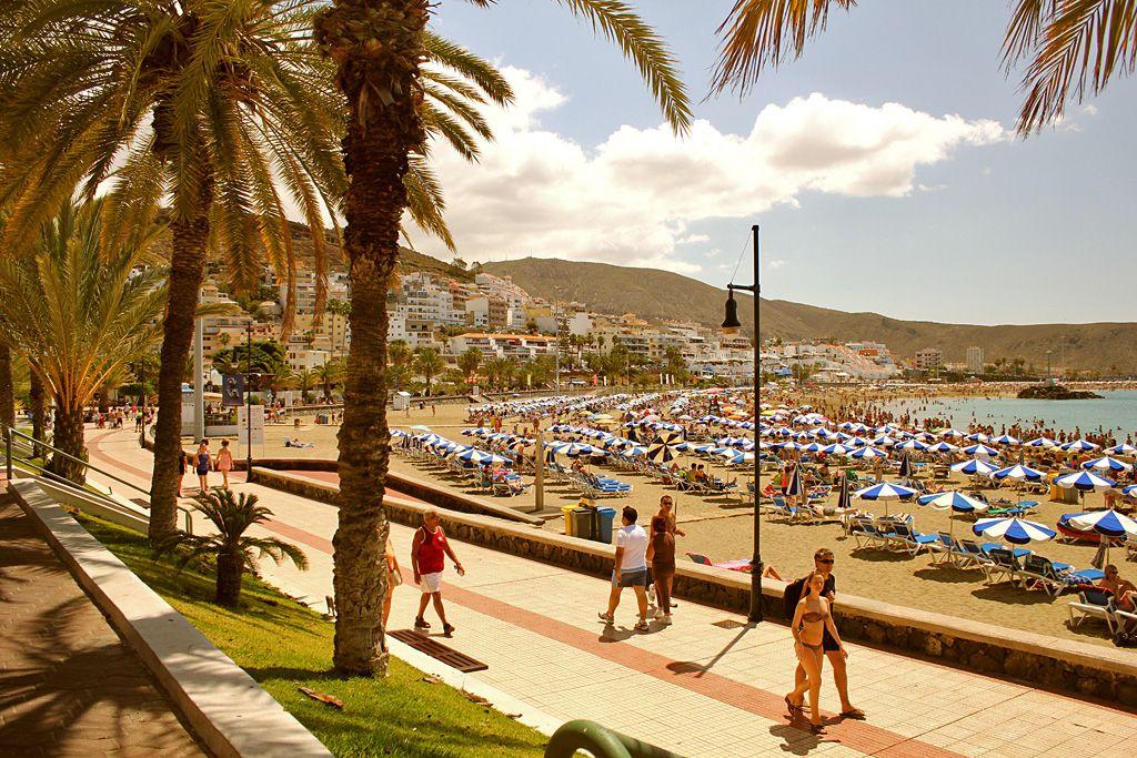 Hausbesetzer in Playa de las Américas auf Teneriffa