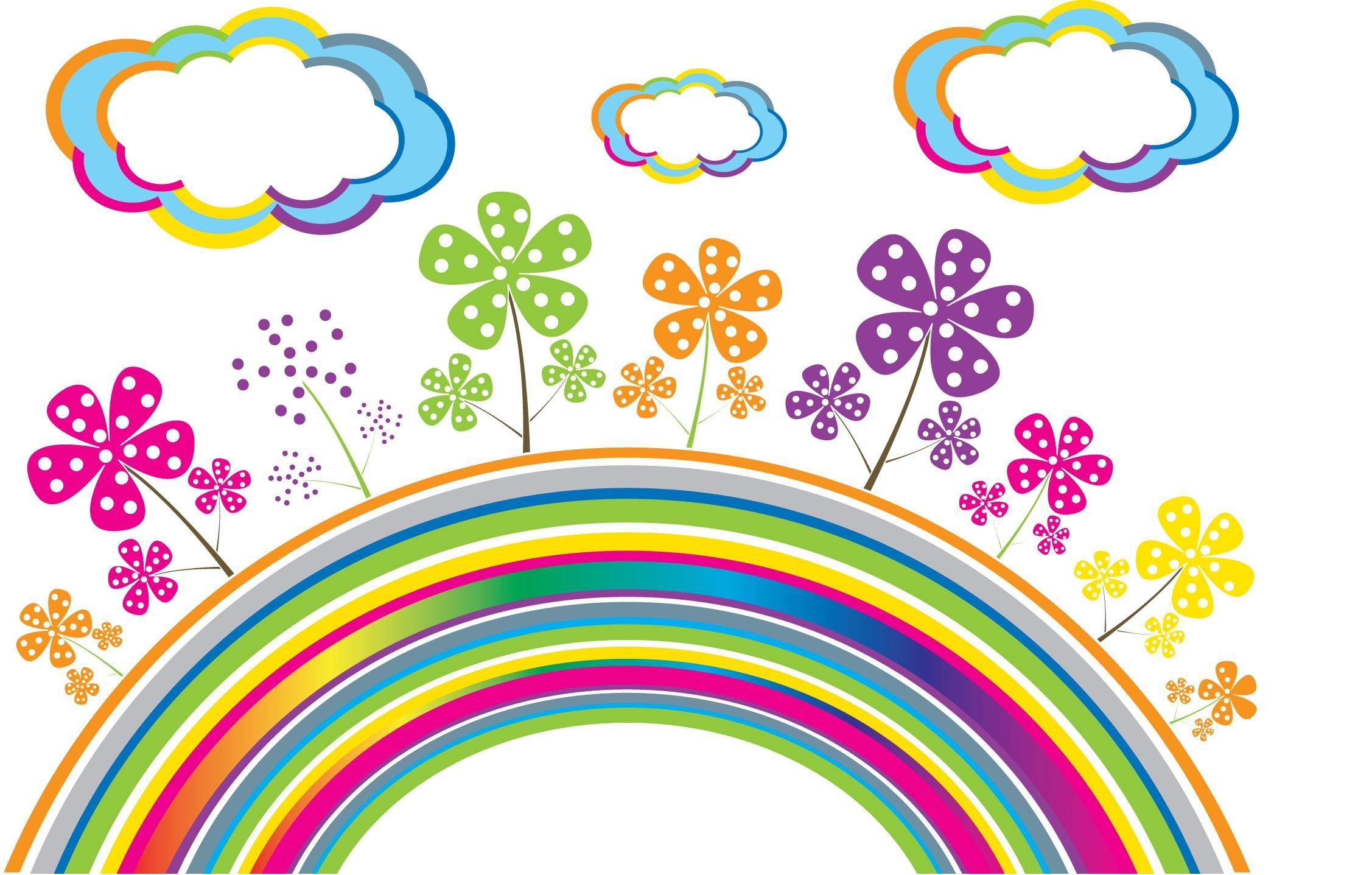 Картинка радуга для детей в детском саду, хорошее настроение класс