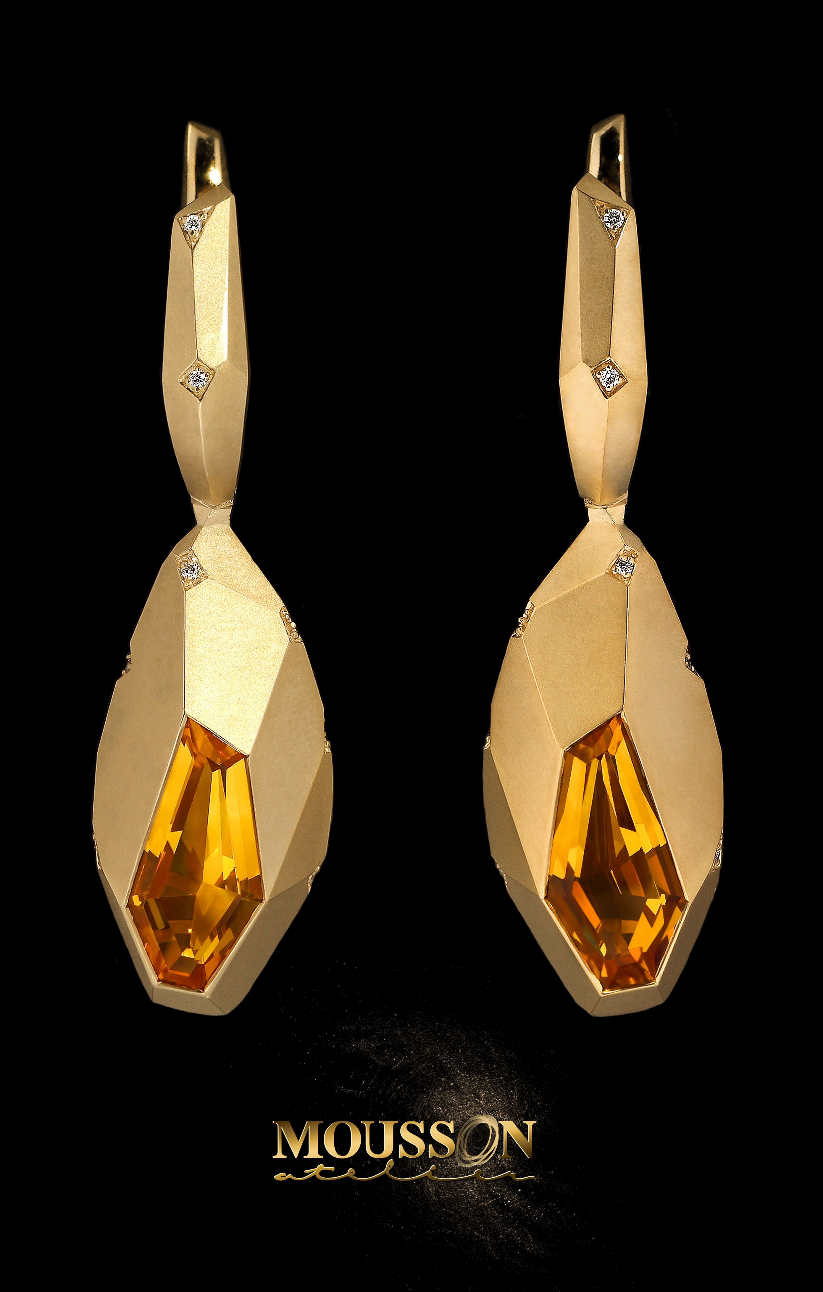 Geometry rings gold jewellery dezign design style