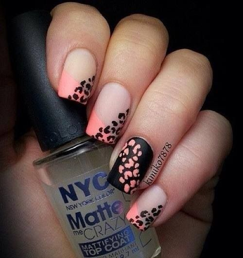 Sweet Nail Designs for this Weekend · Leopard ... - Sweet Nail Designs For This Weekend Manicure, Nail Nail And Beauty