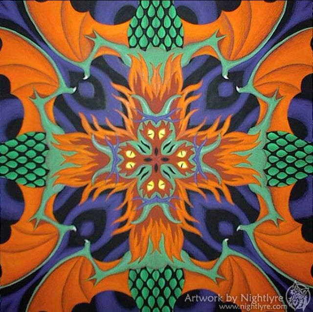 I Chose This Picture To Represent The Triadic Colors Because It Contains Orange Green