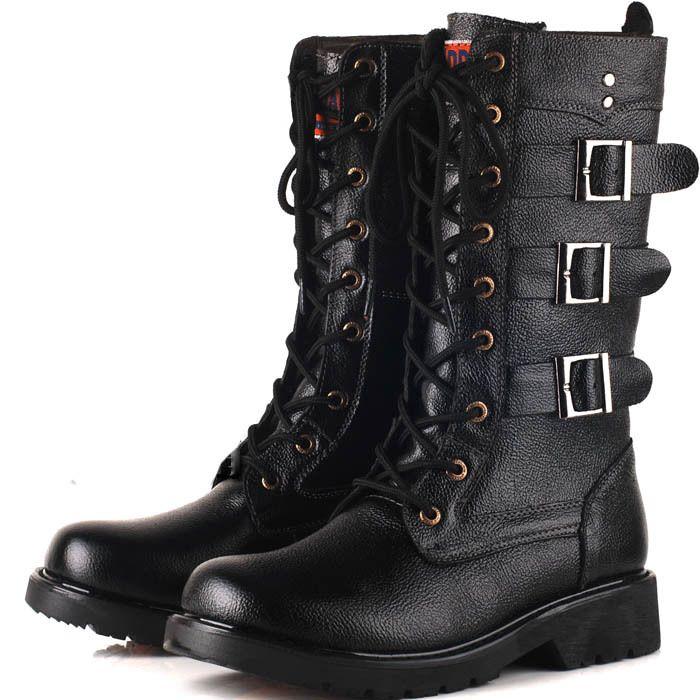 hoge laarzen voor heren