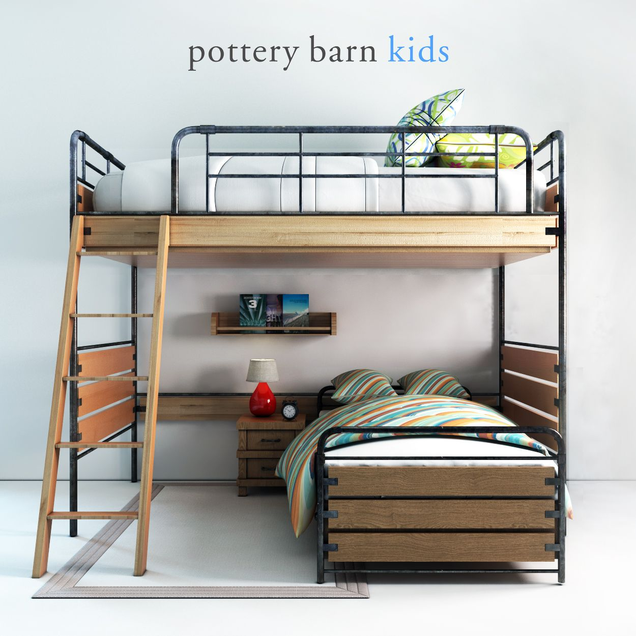 Pottery barn, Owen Twin Loft Bed Owen, barn, Pottery,