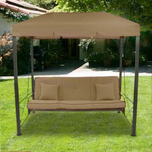 Garden Winds Replacement Canopy Top for Targetu0027s Outdoor Patio Swing * You can find more details : canopy porch swing - memphite.com