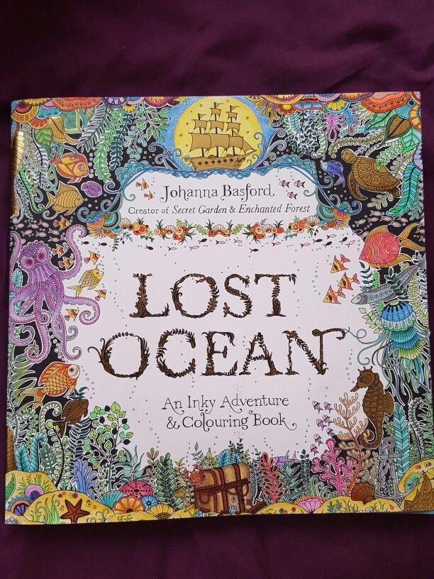 Lost Ocean Johanna Basford Cover Johanna Basford Coloring Lost Ocean Coloring Book Lost Ocean