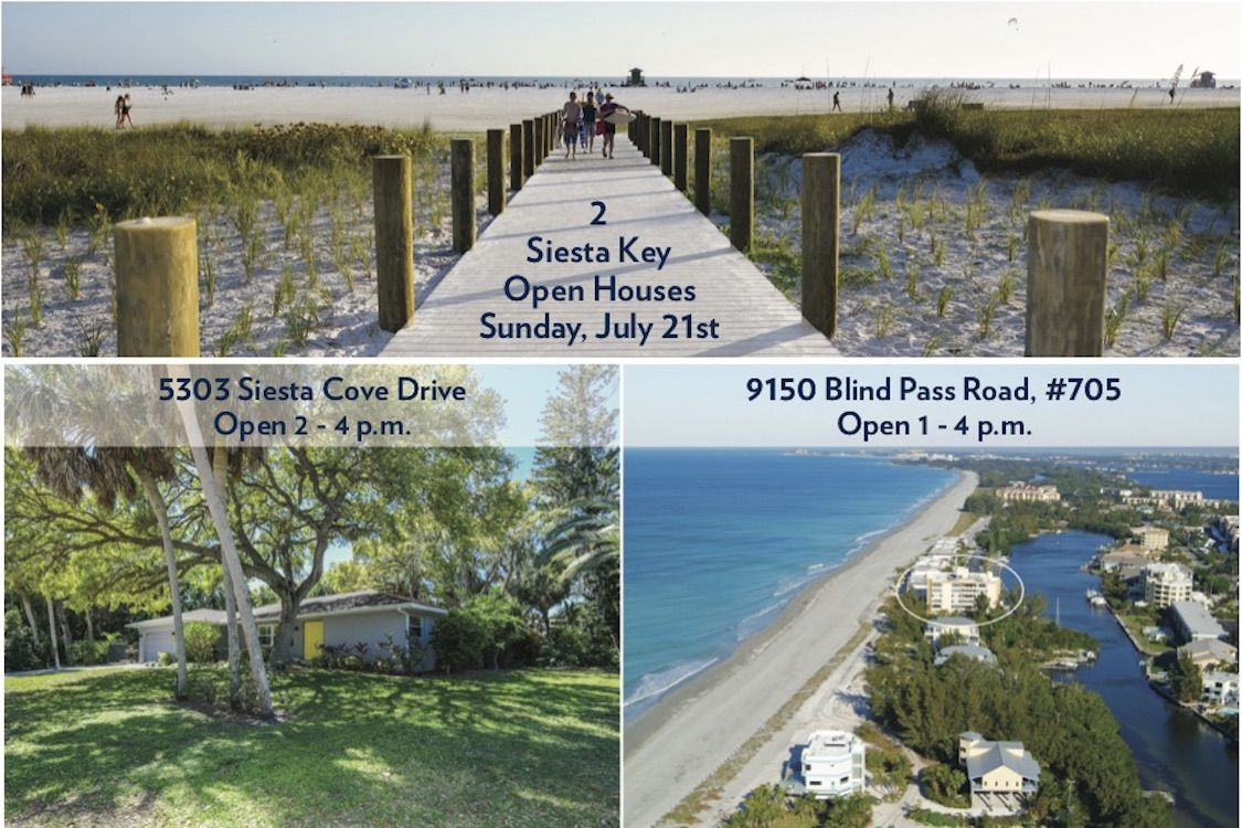 Stop By Our Siesta Key Open Houses This Sunday To See The Very Best Of Island Living Siestakey Sarasota Beach Boating Island With Images Open House Siesta Key Siesta