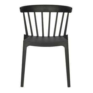 WOOOD kunststof eetkamer-/ terrasstoel Daan, zwart kopen? Verfraai ...