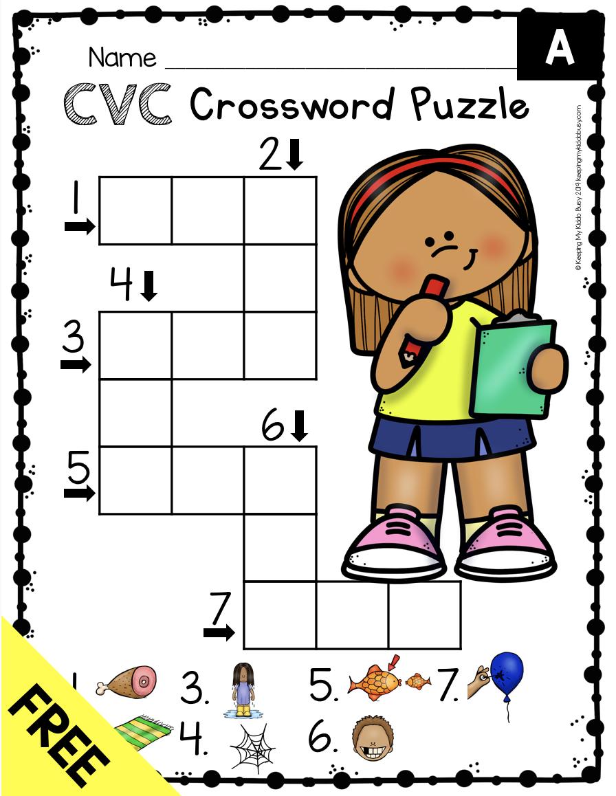 Phonics Unit 4 Cvc Words Word Families Freebie Keeping My Kiddo Busy Phonics Kindergarten Kindergarten Word Families Phonics Programs [ 1158 x 896 Pixel ]