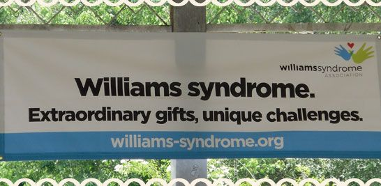 Great blog about having a child with Williams Syndrome.