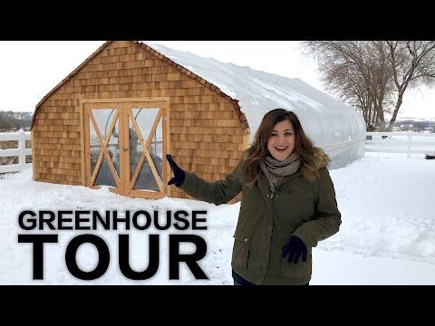 Greenhouse/Cold Frame Tour   Garden Answer - YouTube Horticulture