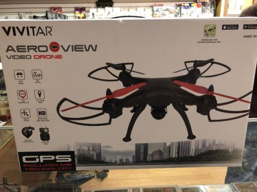 Details about Vivitar AeroView Drone DRC 446 Brand New Sealed GPS