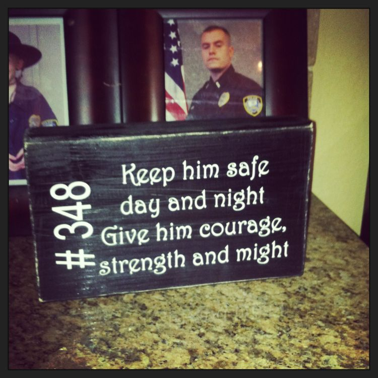 Police Officer Gifts Police Sign Police Appreciation Week