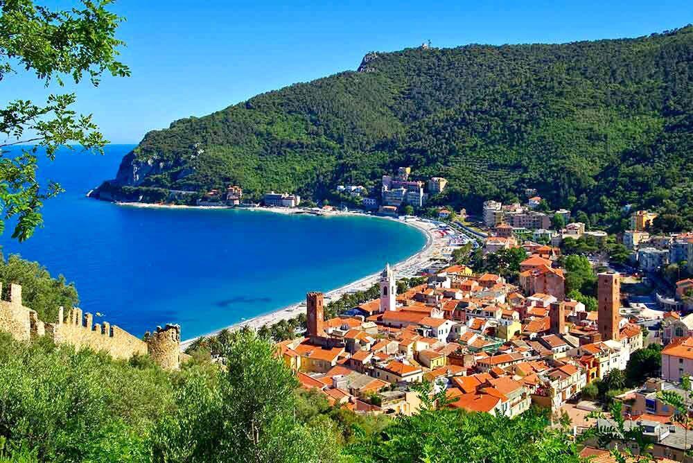 Noli Liguria Italien