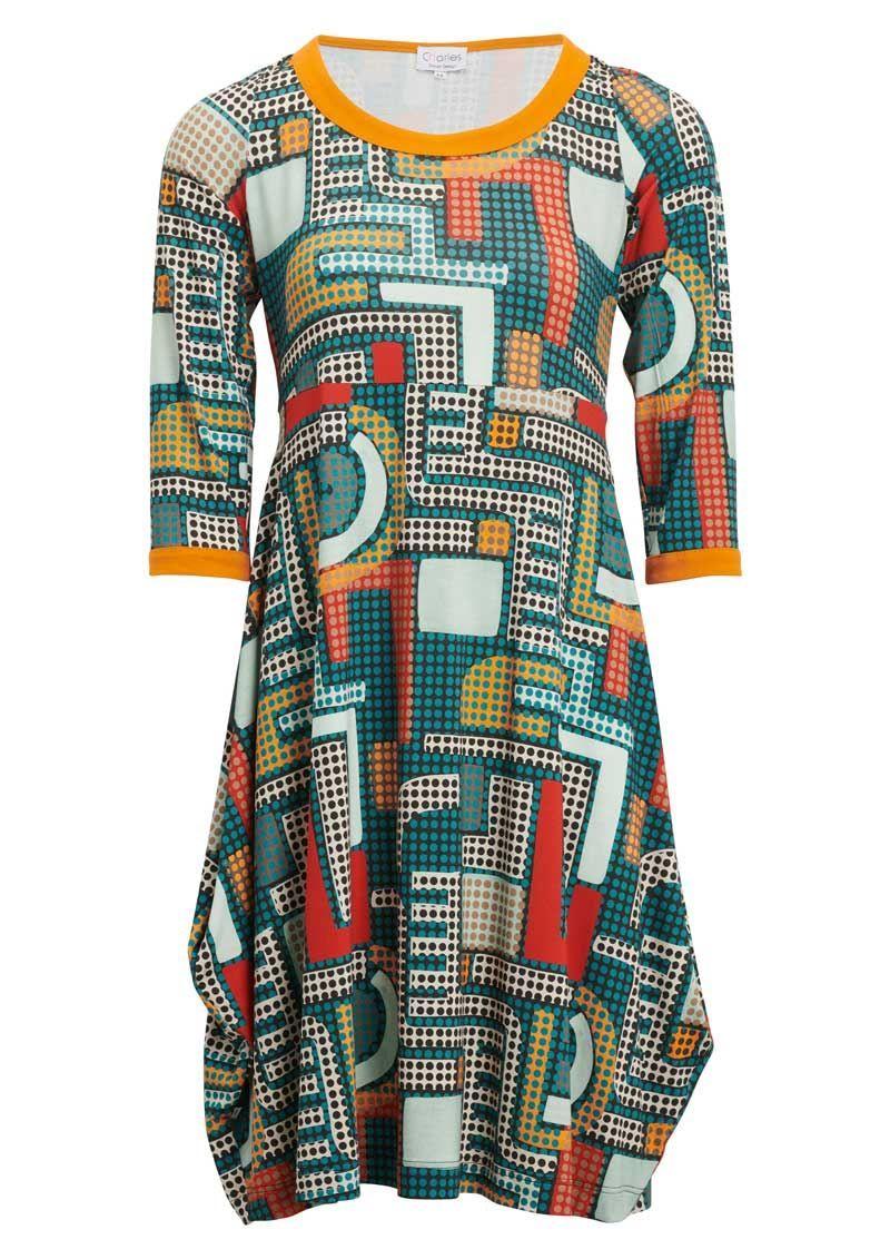 6e215ceb Køb CHARLES kjole FRIDA med prikker. Fri fragt | Kjoler | Kjoler ...
