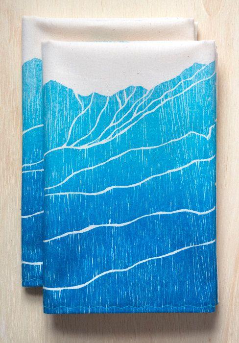 Free Shipping Flour Sack Kitchen Towel Dish Towel Tea Towel Etsy Colorado Gift Colorado Mountain Ranges Flour Sack Kitchen Towels