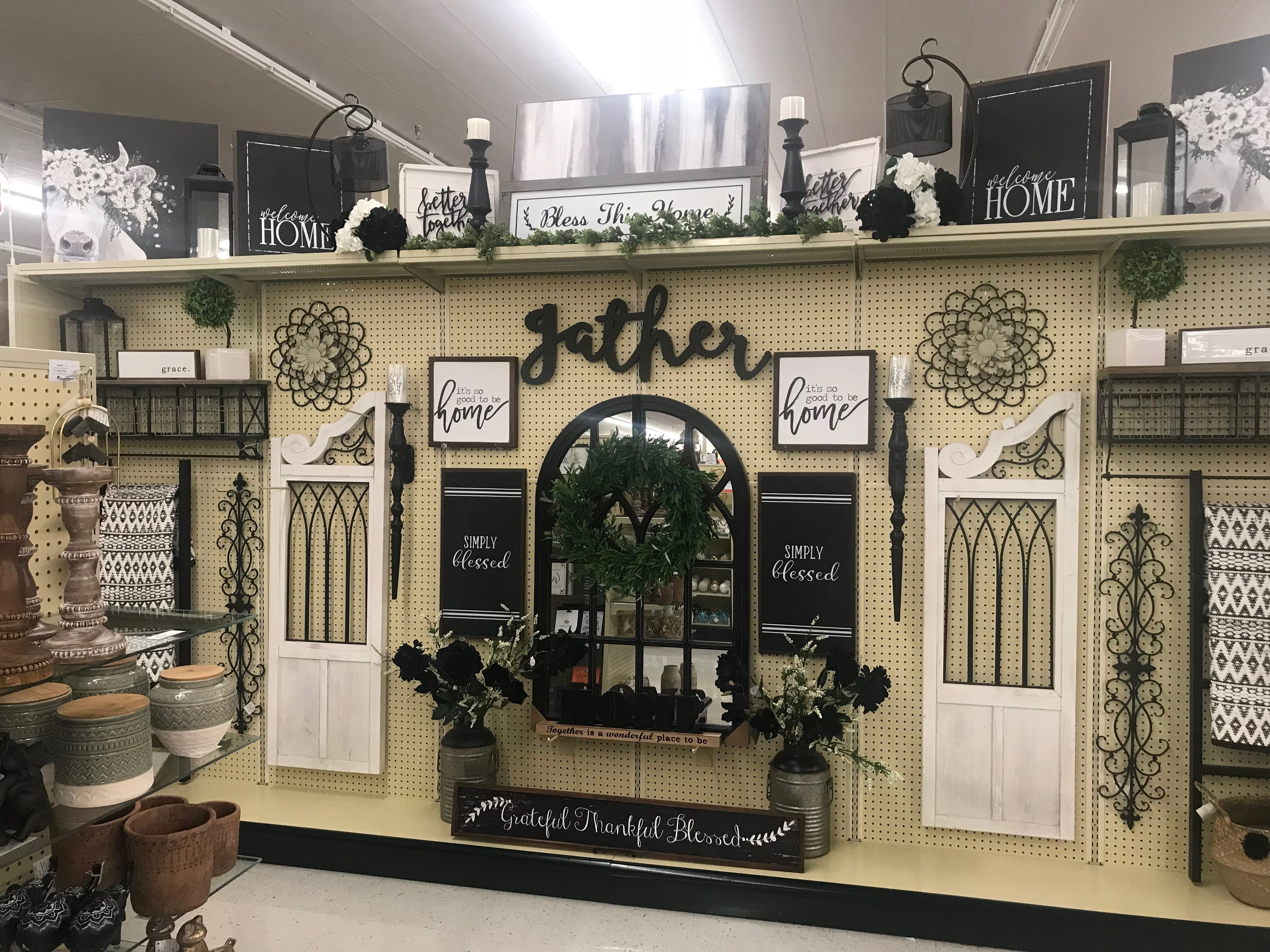 Shutters Either Side Dining Room Door Hobby Lobby Decor Farm Style Kitchen Dining Decor