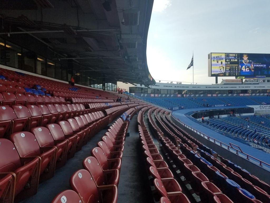 Bills Stadium Seating Chart Seating Charts Ralph Wilson Stadium Stadium
