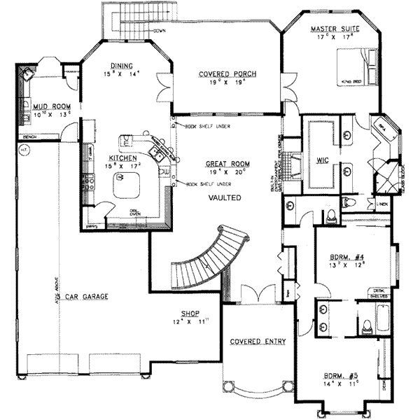 8 Bedroom Floor Plan