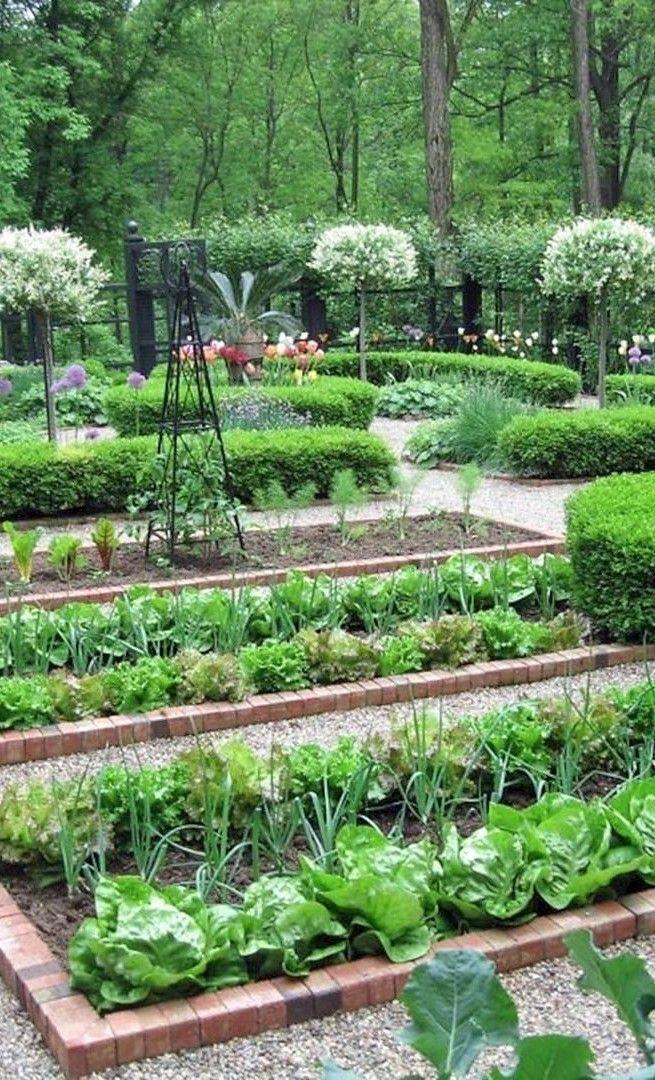 Photo of Formal Vegetable Garden #BestGardenideassmallspaces #Formeller # Vegetable Garden