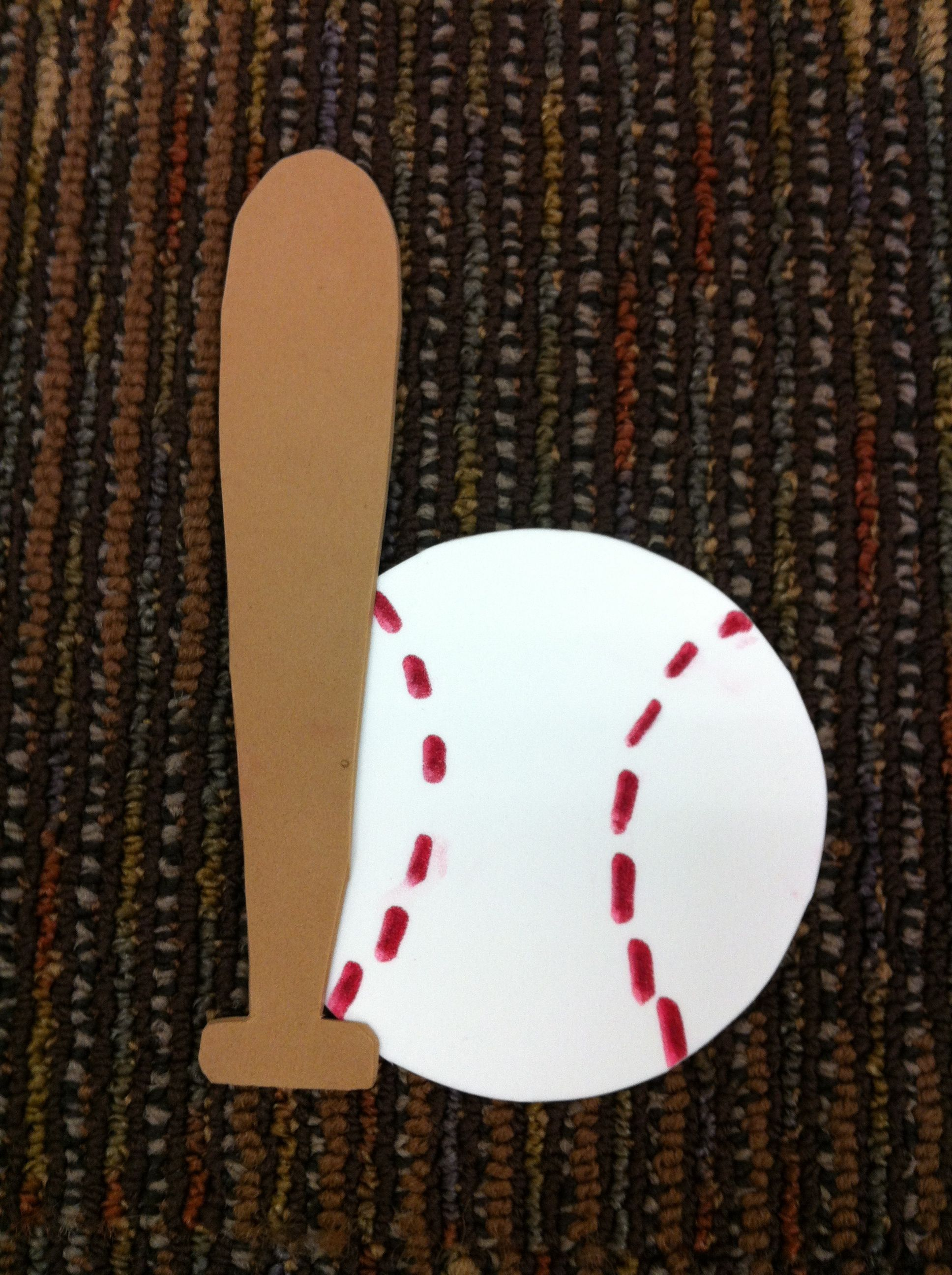 Bb Is For Baseball Amp Bat Craft