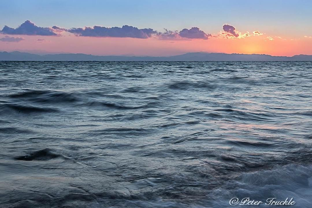 Dahab sunrise captured by Peter Truckle.