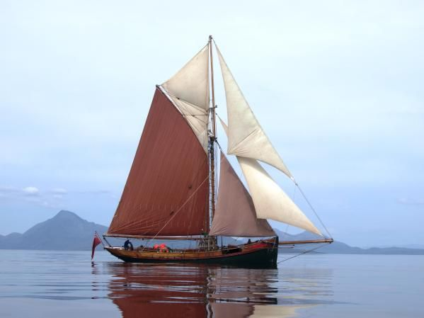 Image gallery gaff cutter for 68 garden design gaff rigged schooner