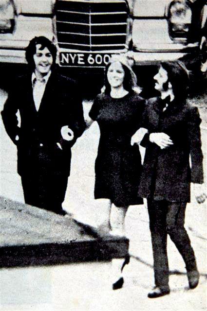 longhairedlady:    [x] Paul, Linda, and Ringo. 1969.