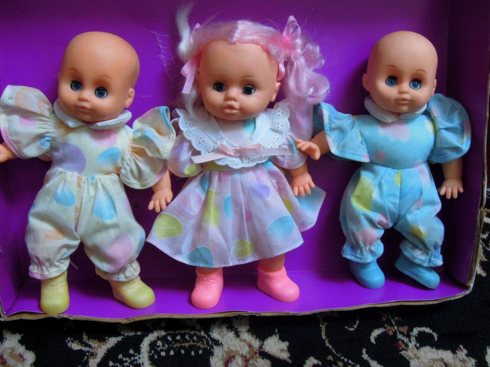 Vintage rare Padgett Brothers 3 baby dolls | eBay