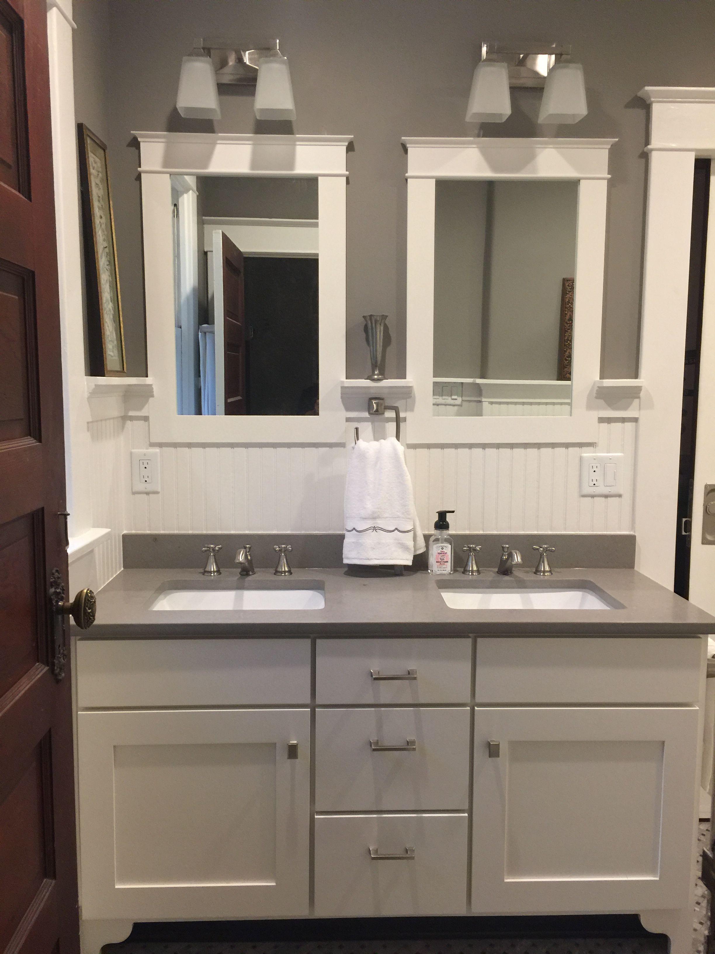 Craftsman Bathroom Craftsman Bathroom Craftsman Bathroom Mirrors Bathroom Construction