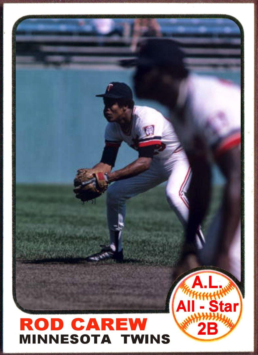 1973 Topps All Star Cards American League Infield Minnesota Twins Baseball Twins Baseball Mlb Baseball Players