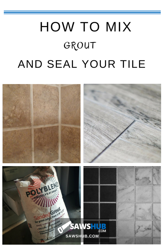 How to Mix, Grout, and Seal Your Tile Bathtub tile