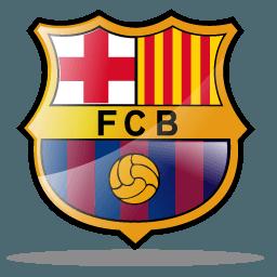 Футбольная эмблема команды барселона