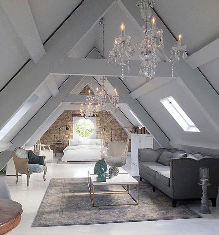 Pin By Heather Sullivan On Home Design Attic Attic Master Bedroom Attic Rooms Attic Renovation