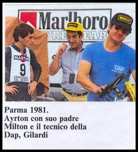 Ayrton Senna, Parma 1981
