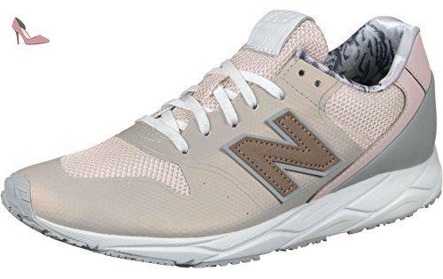 chaussures new balance femme rose