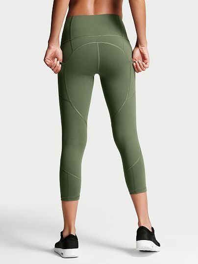 Knockout by Victoria Sport High-rise Pocket Capri | Treat yourself ...