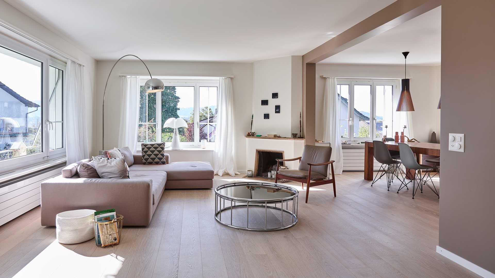 umbau privathaus | wohnen und essen | innenarchitektur marc, Innenarchitektur ideen